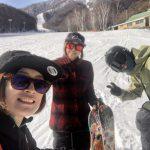 女ふたり旅!スノーボードもスノースケートも楽しむ尾瀬岩鞍